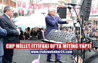 Chp Millet İttifakı OF Mitingi
